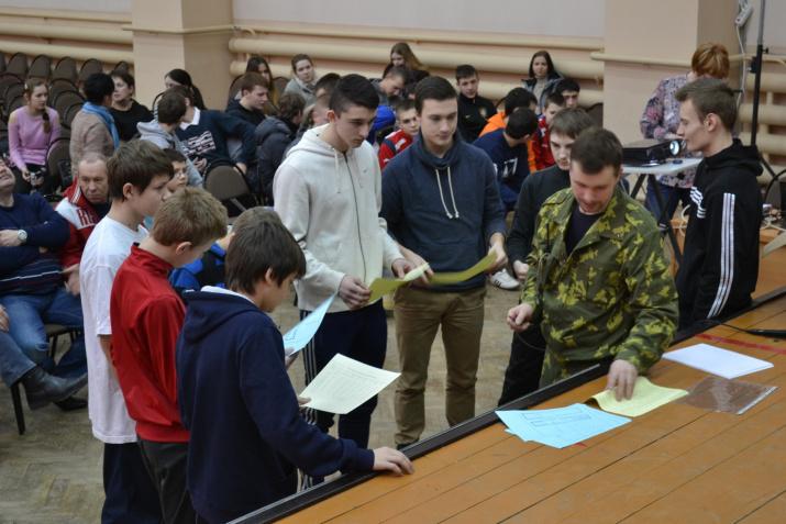 Военно-спортивная игра ''Зарница 2015''