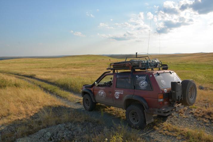 Степные дороги Алтайского края