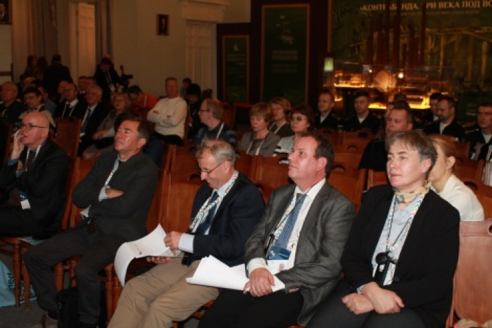 Participants of the conference on the preservation of the underwater cultural heritage. Photo by Tatyana Nikolaeva