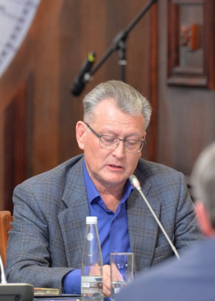 Professor of the Institute of Ecology and Environmental Management of Kazan Federal University Oleg Ermolaev. Photo by the press service of the Society.