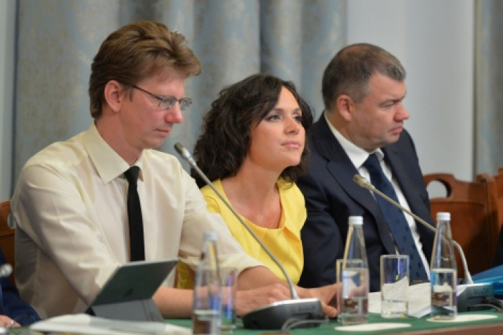 Anastasia Chernobrovina, advisor to the President of the Russian Geographical Society on information policy. Photo by the press service of the Society.