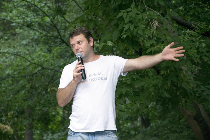 Антон Шкурин. Фото: пресс-служба РГО