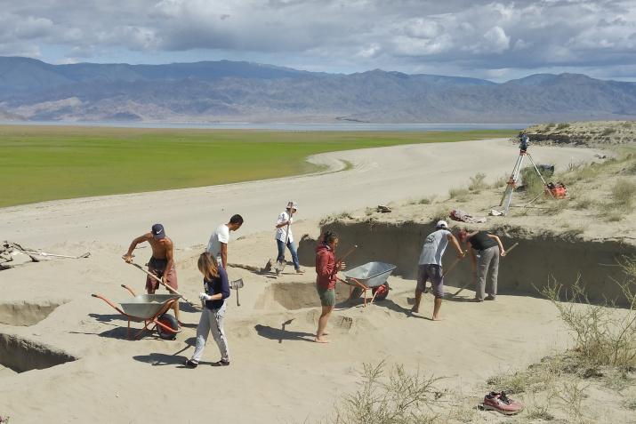 Раскопки могильника Терезин. Фото предоставлено участниками экспедиции