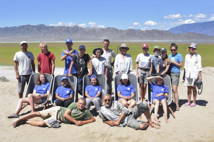 Участники экспедиции. Фото предоставлено участниками экспедиции