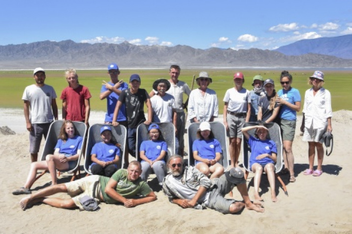 Participants of the expedition. Photo by: expedition members