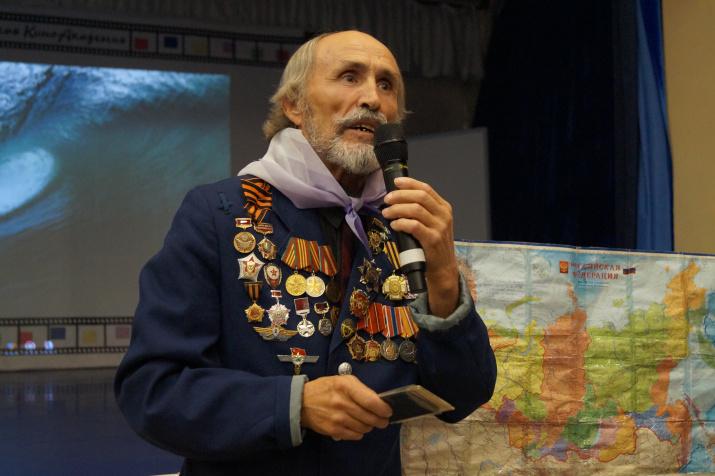 Известный российский путешественник Анатолий Цепкало. Фото предоставлено организаторами смены