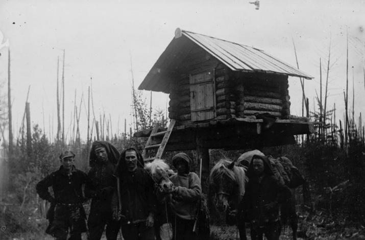 По материалам экспедиции Леонида Кулика