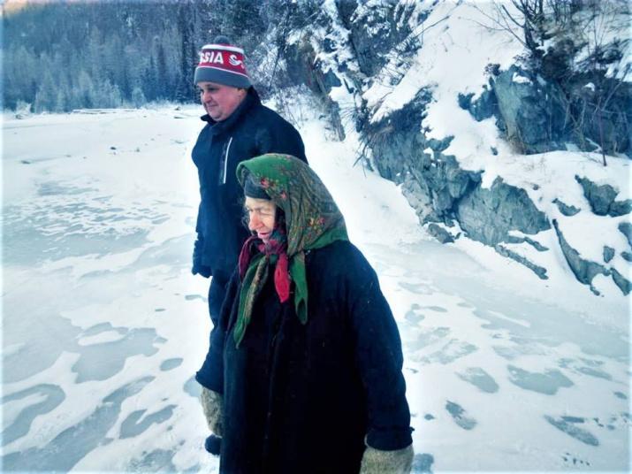 Сергей Цивилёв и Агафья Лыкова. Фото с официальной страницы С. Цивилёва