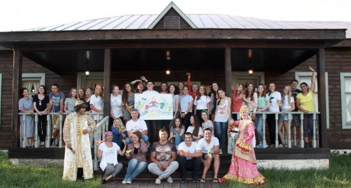 Участники международного волонтерского лагеря в Болгаре – 2017. Фото: Наргиз Айтуганова