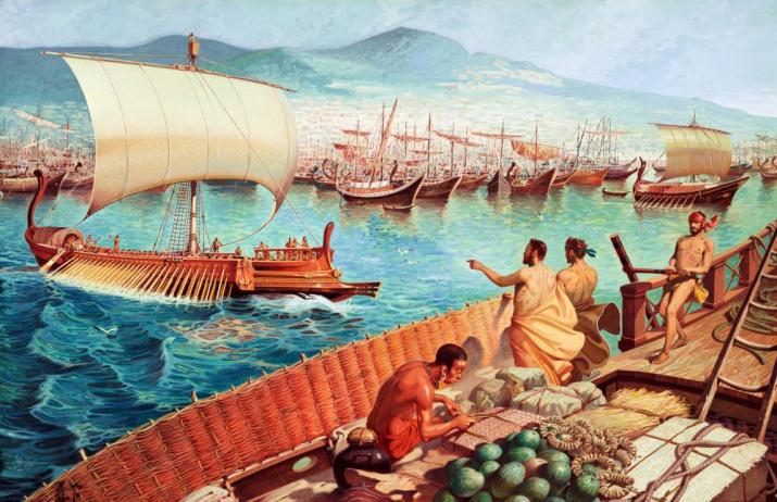 Греческие колонисты. Сайт: pixabay.com