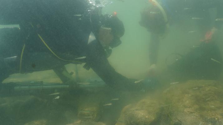 Фото предоставлено участниками экспедиции Акра – античный город Боспора