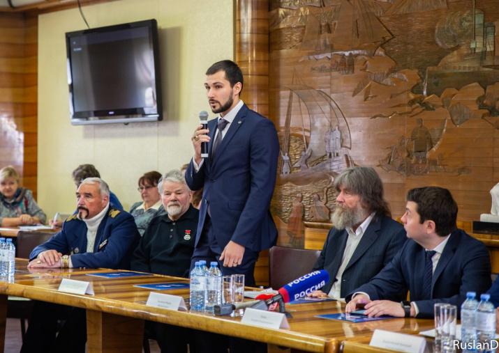 Заместитель председателя Мурманского областного отделения РГО Сергей Гончаров