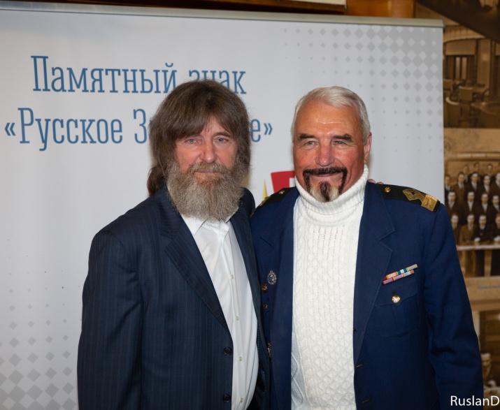 Два капитана: Ростислав Гайдовский и Фёдор Конюхов