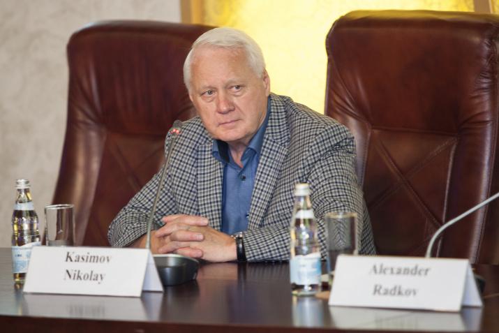 Первый Вице-президент РГО Николай Касимов. Фото: Алексей Михайлов