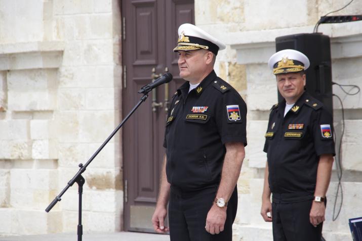 Командующий Черноморским флотом Российской Федерации вице-адмирал Игорь Осипов. Фото предоставлено участниками мероприятия