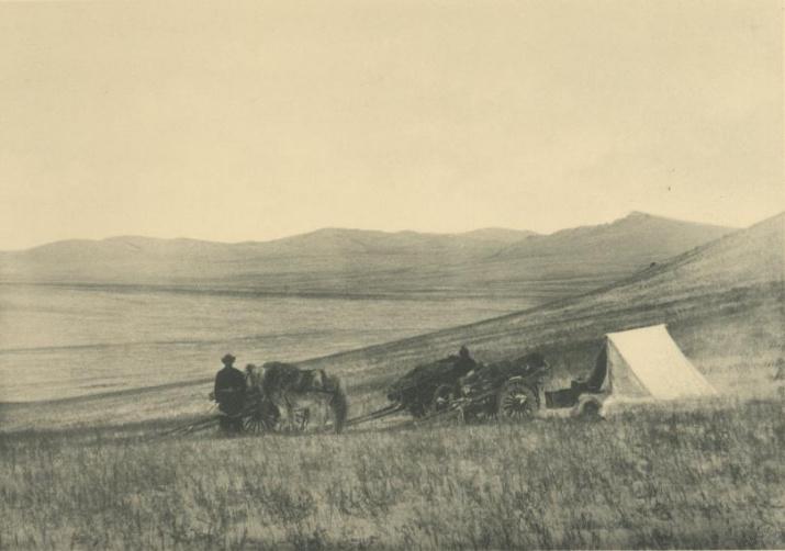 Экспедиция В.А. Обручева. Изображение из Архива РГО