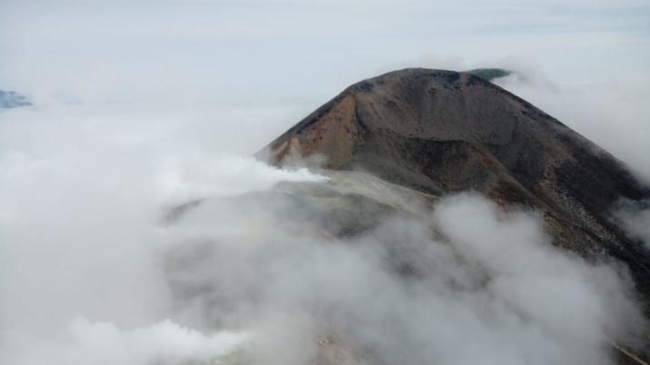 Вулкан Кудрявый. о. Итуруп. Фото: Виктор Дятликович
