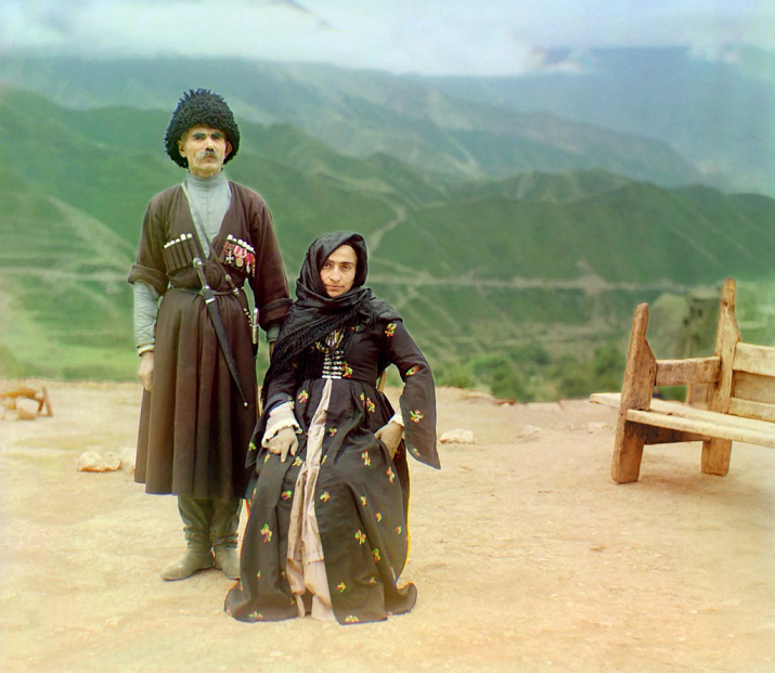 Дагестанцы, начало XX века, Фото: Сергей Прокудин-Горский, wikipedia.org