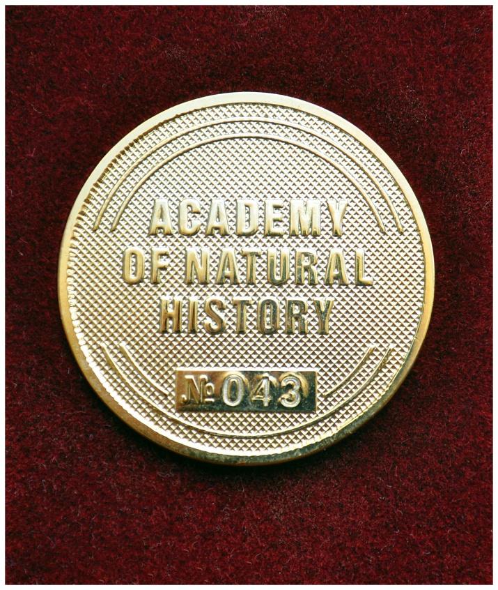 Медаль выставки в Нью-Йорке