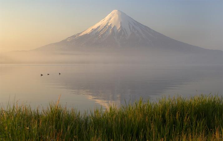 Кроноцкое озеро. Фото: Игорь Шпиленок