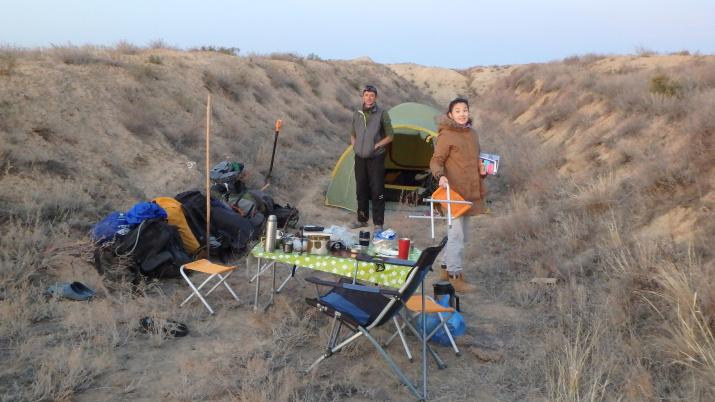 Лагерь экспедиции (фото Головачев И.В.)