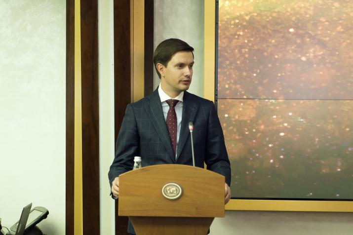 Иван Чайка. Фото: пресс-служба РГО