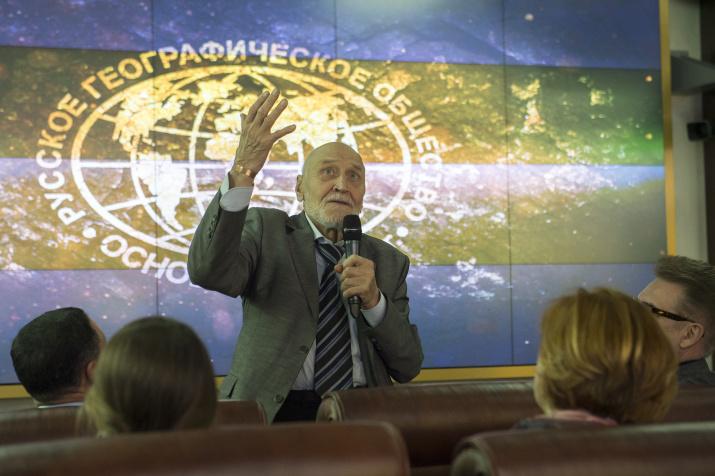 Николай Дроздов. Фото: пресс-служба РГО