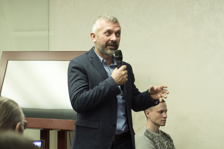 Геннадий Самохин. Фото: пресс-служба РГО
