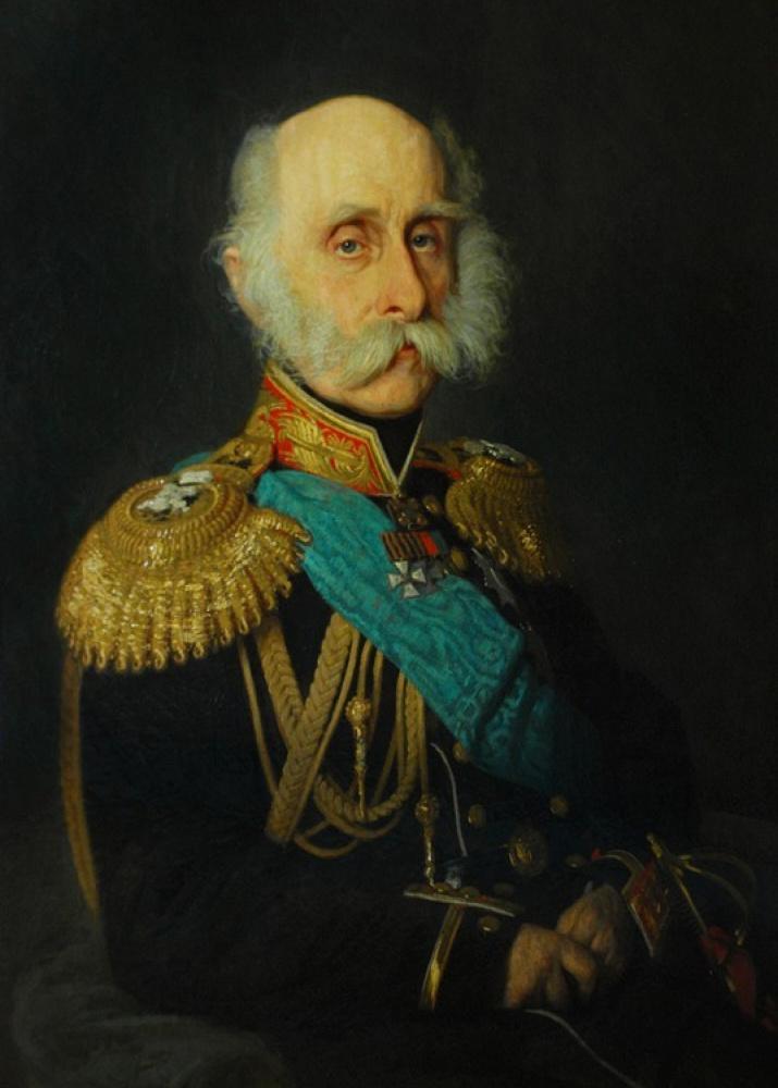 Портрет графа Ф.П. Литке, президента Императорской Академии наук. (И.Н. Крамской, 1871), wikipedia.org