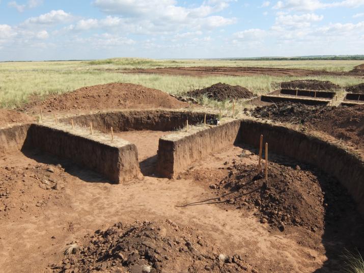 Курган бронзового века (Оренбургская область)