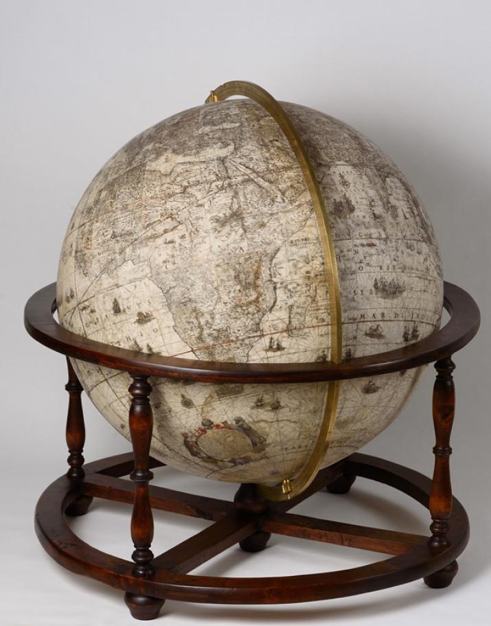 Земной глобус Блау. Фото предоставлено пресс-службой Государственного исторического музея