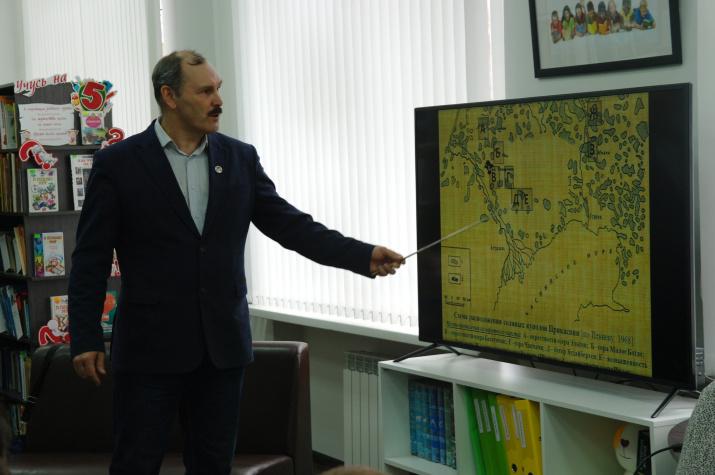 Илья Головачев рассказывает об экспедиции на Индер