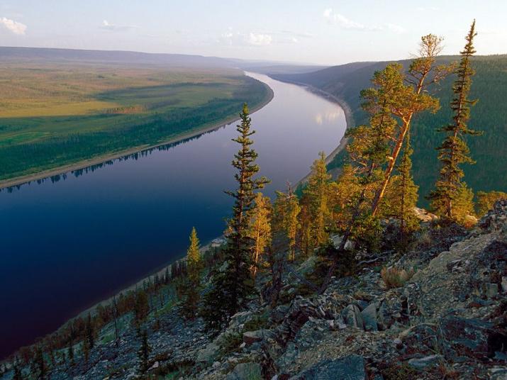 Река Олёкма. Олёкминский заповедник. Фото: Игорь Шпиленок
