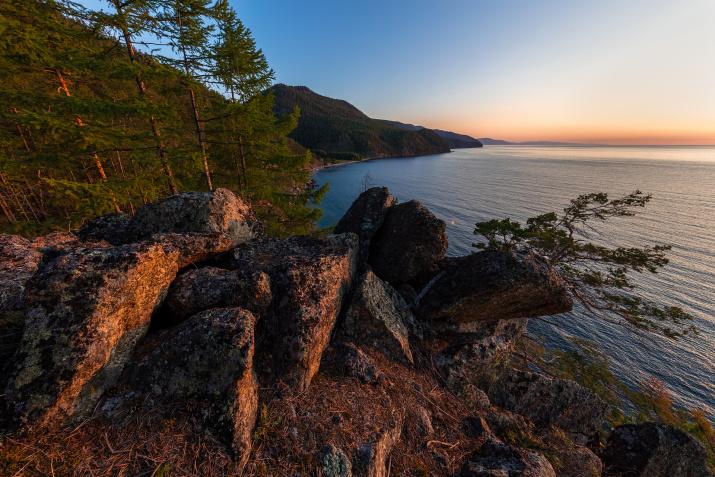 Озеро Байкал. Фото: Кирилл Уютнов
