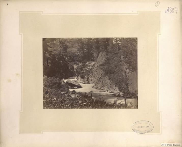 фото: Л. Полторацкая, 1883, река Катунь / Архив РГО