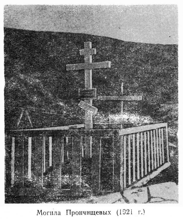 Могила Прончищевых (фотография 1921 года) / Википедия