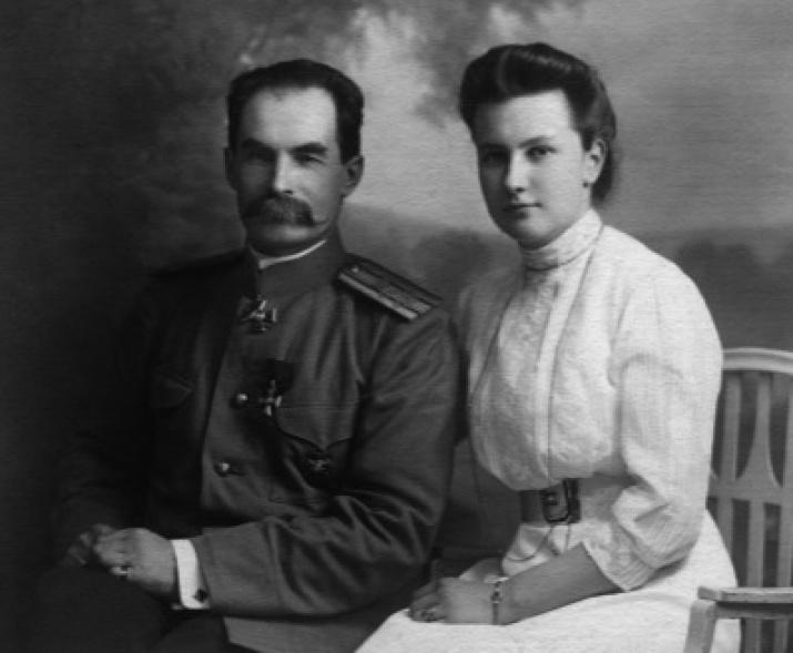 Петр и Елизавета Козловы. Фото с сайта музея П.К. Козлова