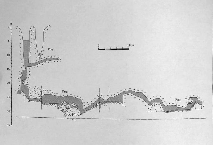 Схема пещеры из книги И.Головачева