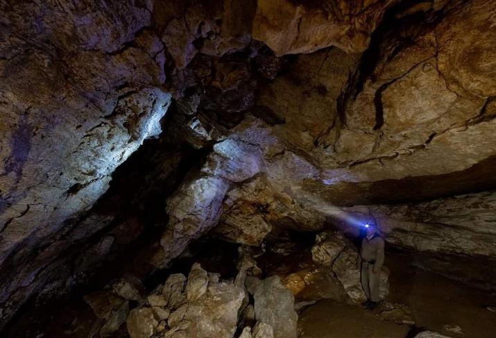 Своды пещеры