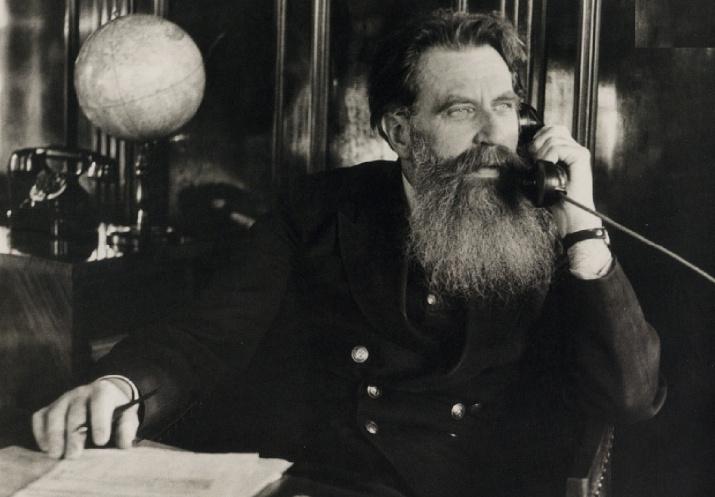 Отто Юльевич Шмидт. 1936 год. Фото: wikipedia.org/Дмитрий Дебабов