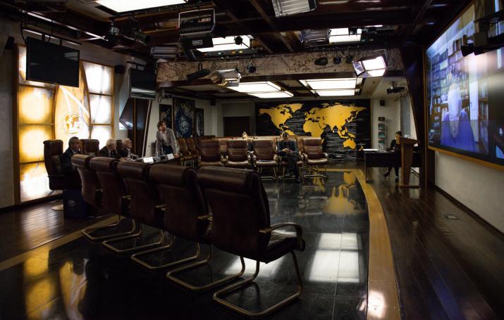 Заседание Учёного совета. Фото: пресс-служба РГО