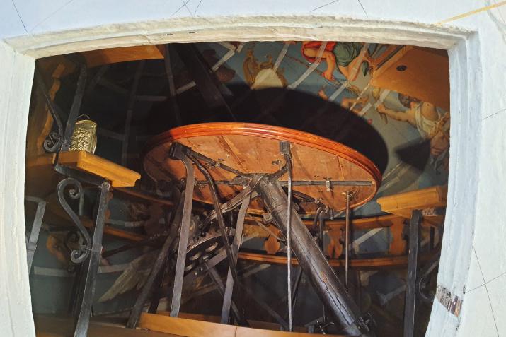 Внутреннее помещение глобуса. Фото: Ольга Ладыгина