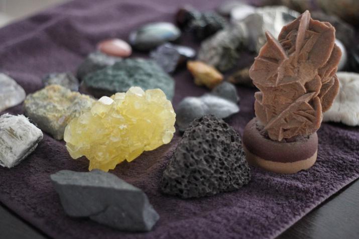 Личная коллекция минералов Ильи Головачёв