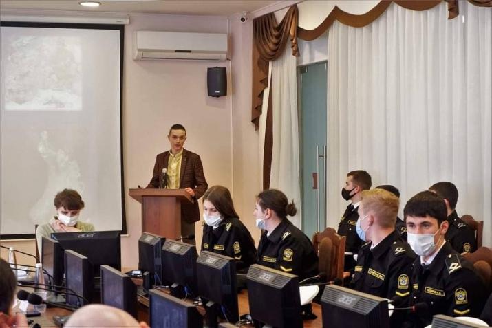 Дмитрий Катков осветил деятельность секции спелеологии