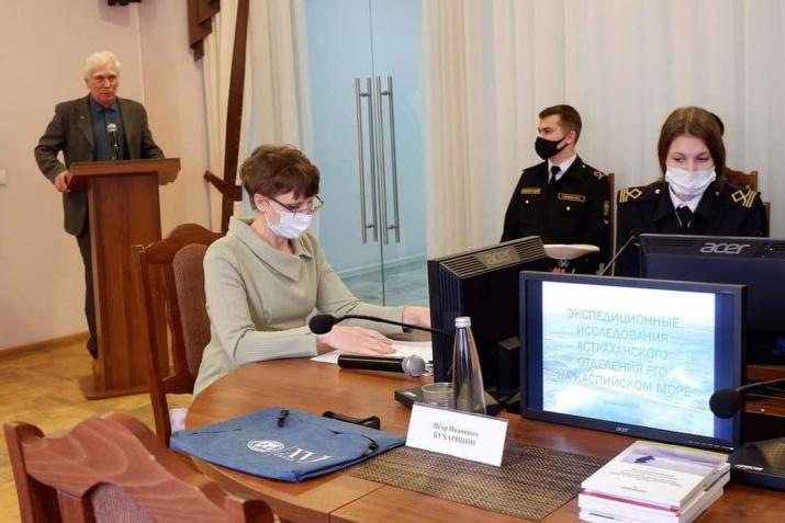 Доклад председателя АО РГО П.И.Бухарицина