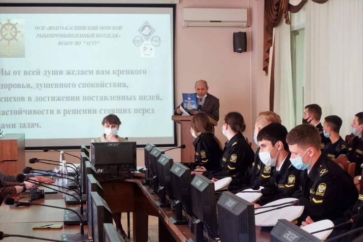 Преподаватель Волго-Каспийского морского рыбопромышленного колледжа, член РГО Арон Баранкулов