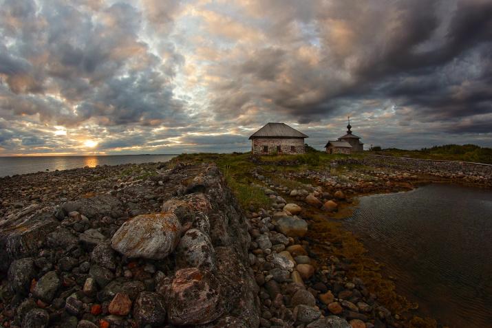 """Северное небо. Фото: Петр Косых, участник конкурса """"Самая красивая страна"""""""