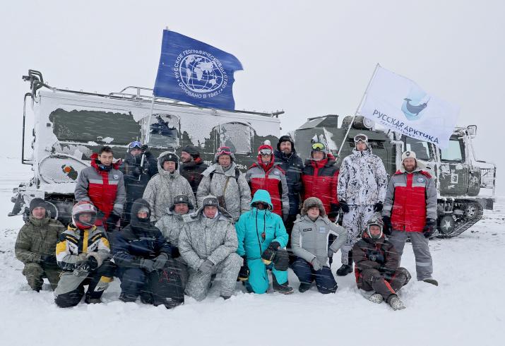 В состав экспедиционной группы РГО вошли учёные разных направлений. Фото: Гавриил Григоров