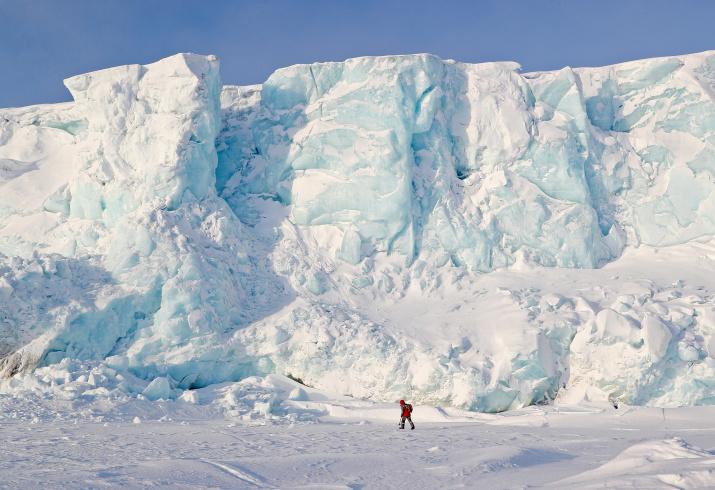 Мощь и хрупкость Арктики. Фото: Гавриил Григоров