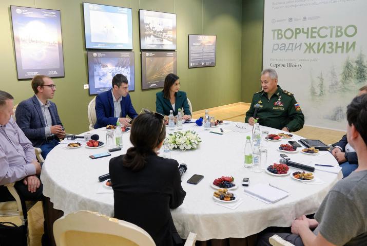 Фото: пресс-служба Министерства обороны/Роман Никифоров